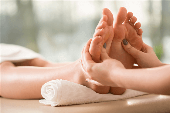 Reflexology at Adjust Massage